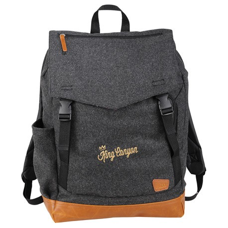 "Field & Co. Campster Wool 15"" Rucksack Backpack"