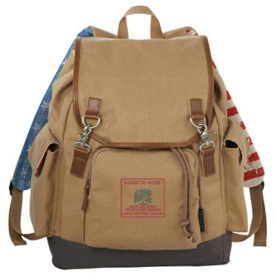 "Field & Co. Americana 17"" Computer Backpack"