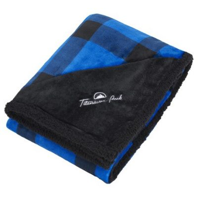 Field & Co.® Buffalo Plaid Sherpa Blanket